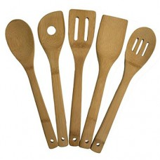 Bamboo Kitchen Spoon Set