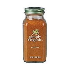 Simply Organic Brand Cayenne Pepper