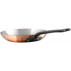 Mauviel M'Heritage Copper Round Frying Pan, 10.2""